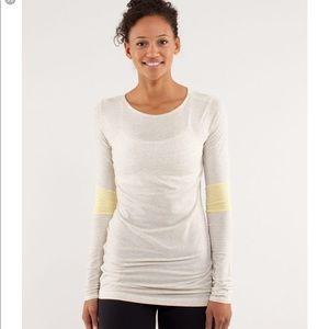 Lululemon devotion long sleeve